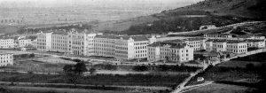 Das Gesamtareal der k.u.k. Technischen Militärakademie in Mödling um 1904.